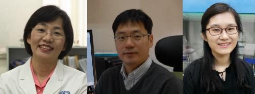 윤계순, 우현구 아주대 의대 교수(왼쪽부터)와 이영경 연구강사. - 한국연구재단 제공